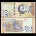 VENEZUELA - Billet de 500 Bolivares - Oiseau Oriole troupiale - 15.01.2018 P108a