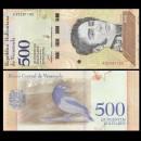 VENEZUELA - Billet de 500 Bolivares - Oiseau Oriole troupiale - 15.01.2018