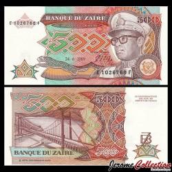 ZAIRE - Billet de 500 Zaires - 24.6.1989