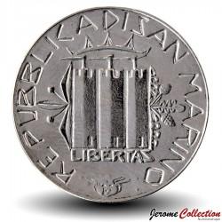 SAINT-MARIN - PIECE de 100 Lires - Famille - 1985