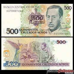BRESIL - Billet de 500 Cruzeiros - 1990 P226b